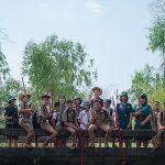 กิจกรรมเดินทางไกลเข้าค่ายลูกเสือ-เนตรนารี ปีการศึกษา 2563